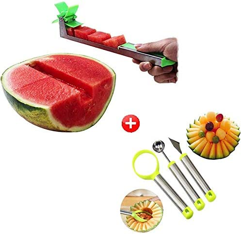 KitchenXOXO Watermelon Carving Stainless Restaurant product image