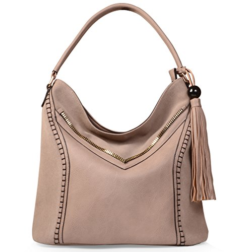 KISS GOLD(TM) Handbags for Women Hobo Shoulder Tote Bag Top Handle Bag
