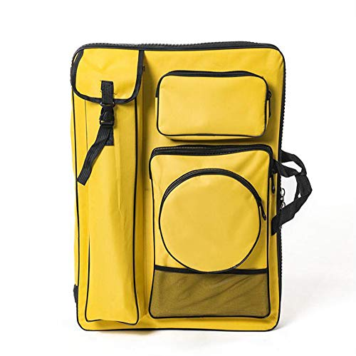 "Art Portfolio, Yofa Artists Portfolio Case Artist Backpack Canvas Bag Large 26"" x 19.5"" ()"