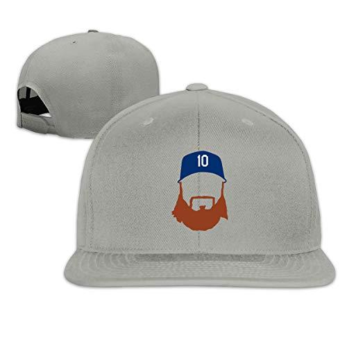 Adjustable Baseball Cap Los Angeles Turner Face Cool Snapback Hats Gray