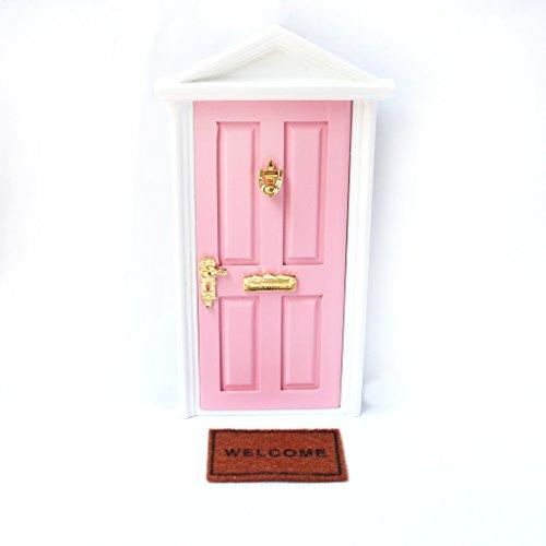 Casa de muñecas en miniatura 1:12th escala Rosa Rosa Alfombra de escalera