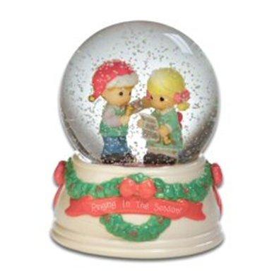 限定価格セール! Precious MomentsクリスマスCaroling Couple Couple Waterglobe Waterglobe Precious B009QFGZXQ, NANIWAYA:0a800e5c --- irlandskayaliteratura.org