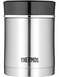 Thermos 16 Ounce Stainless Steel Food Jar, Black