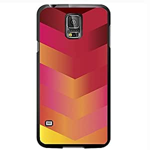 Pink Gradient Arrows Hard Snap on Phone Case