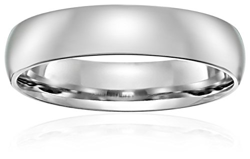 Light-Comfort-Fit-14K-Gold-Wedding-Band-4mm