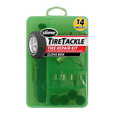 Slime 2410 Tire Repair Tackle Set (14-Piece Set): Automotive