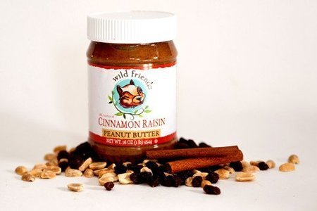 Wild Friends Cinnamon Raisin Peanut Butter, 16 Ounce -- 6 per case. by Wild ()