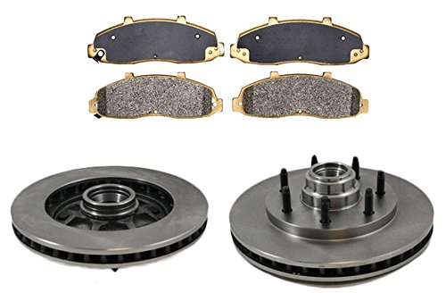 2wd Brake Pad (Front Disc Brake Pad & Rotor Kit Set for Ford Truck 2WD 2x4)