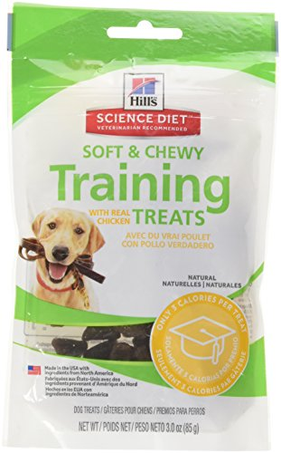 Hill's Science Diet Dog Training Treats, Chicken Soft Dog Treats, Healthy Dog Treats, 3 oz Bag