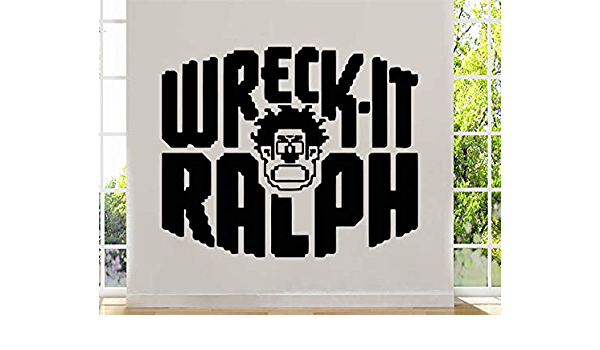 WRECK IT RALPH DISNEY Decal Removable WALL STICKER Home Decor Art Movie 3 Sizes