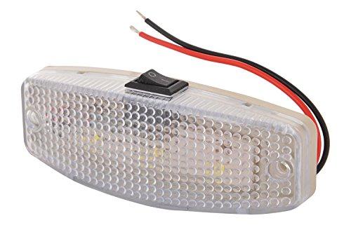 Super 2801 LED Cabin Light with Switch (12V), White
