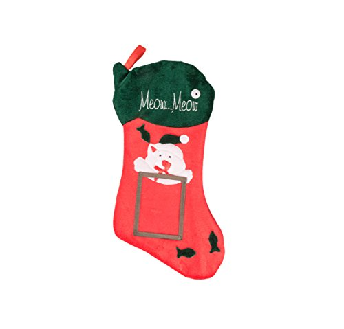 Kitty Cat Hanging Christmas Stocking | For Kids & Adults | 4