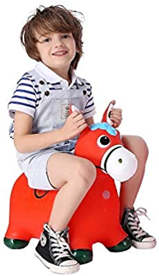 new arrivals fashion top brands Amazon.com: Horse Hopper,(Thickened Version) Inflatable ...