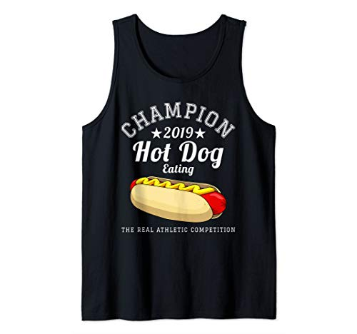 Hot Dog Competitive Eating Contest Champion 2019 Gift Tank Top