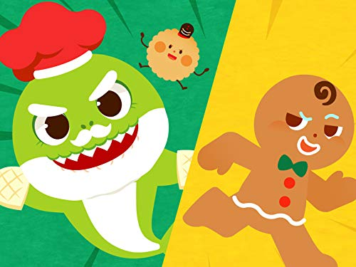 Baby Shark vs Gingerbread Man (Song Gingerbread Christmas)