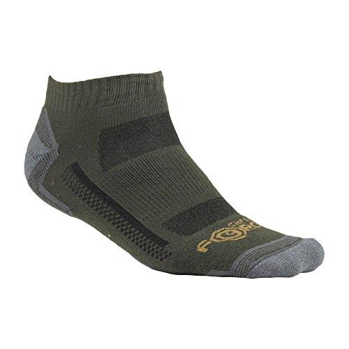 Carhartt Men's Force High Performance Low Cut Socks, Moss, Shoe Size: 6-12