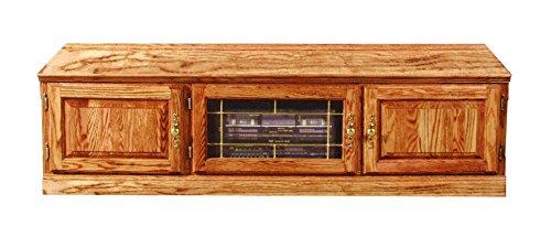 tional TV Stand: 67W x 18H x 21D 67w Golden Oak (Golden Oak Tv)