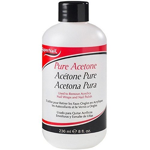 Super Nail Pure Acetone Polish Remover, 8 (Acetone Polish Remover)
