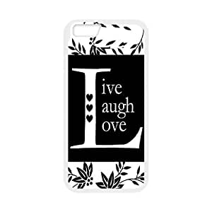 "Live Laugh Love iPhone6 4.7"" Cover Case, Live Laugh Love Personalizedized Cell Phone Case, iPhone6 4.7"" Personalized Case"