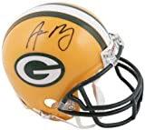 Green Bay Packers Aaron Rodgers Autographed Mini Helmet - Fanatics Authentic Certified - Autographed NFL Mini Helmets