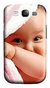 Samsung S3 Case Cute Baby Boy 3D Custom Samsung S3 Case Cover