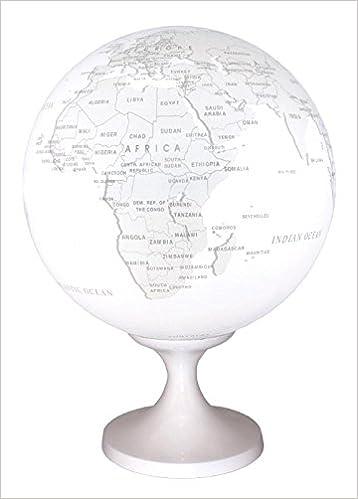 Globe 28 cm pol. wit gestileerd verlicht: Amazon.de: Bücher