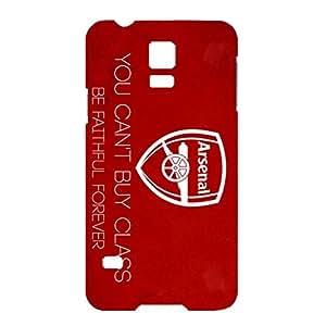 Aston Villa FC Red And Blue Printed FC Team Logo Customized Shockproof Slim Hard Plastic 3D Case LA6K106 For Samsung Galaxy S5 Mini