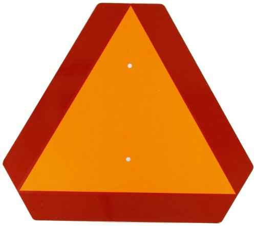 Brady Slow Moving Vehicle Sign, 14