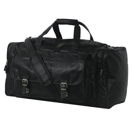 Simulated Leather Large Club Bag (Simulated Leather Zippered)