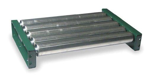 Ashland Conveyor - 14F05SG03B39 - Roller Conveyor, 5 ft. L, 39BF