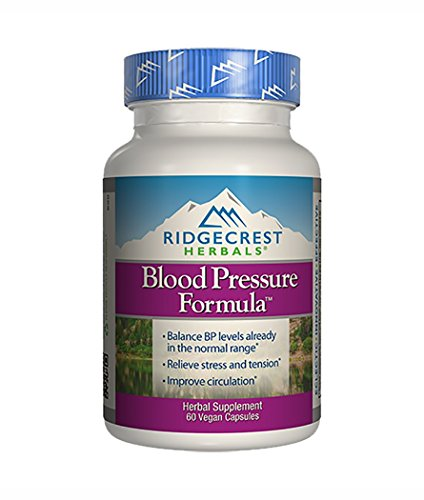 Ridgecrest Blood Pressure Formula, 60 Count
