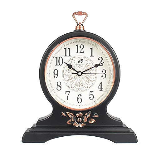 BESISOON Reloj de salón Creativo Simple Reloj de Mesa Vintage Sin ...