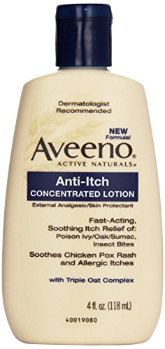 Aveeno Anti, Itch Concentrated Lotion, 4 oz