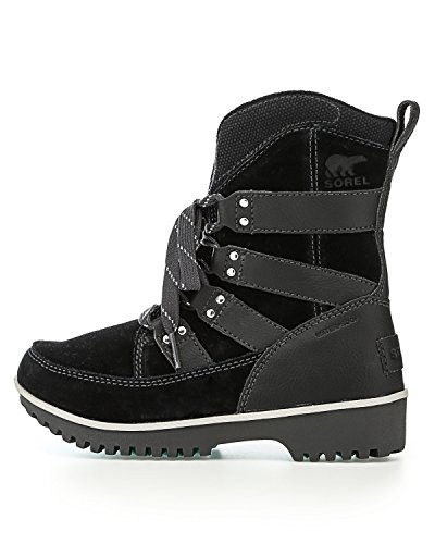 Pictures of Sorel Meadow Lace Winter Snow Boot Shoe - Black/dark Grey 1