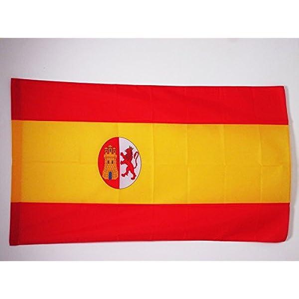 AZ FLAG Bandera de la Primera REPÚBLICA DE ESPAÑA 1873-1874 90x60cm para Palo - Bandera ESPAÑOLA Antigua 60 x 90 cm: Amazon.es: Hogar