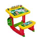 : Nickelodeon's Dora the Explorer Art Desk with 100 Piece Art Supply Kit
