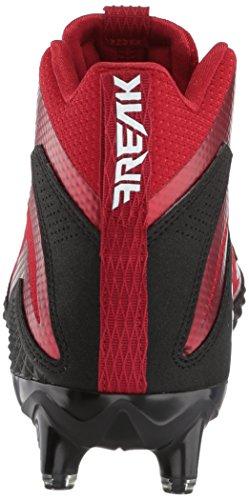 Scarpa Da Calcio Adidas Uomo Man Freak X Carbon, Nero / Bianco / Rosso Potere, 15 M Us