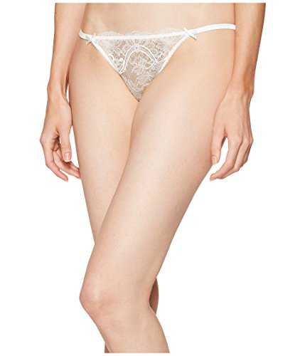 L'Agent by Agent Provocateur Women's Madalene Thong Cream Underwear