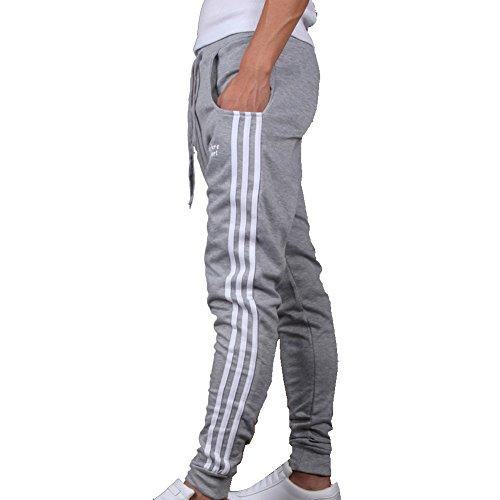 Lvstar Men's Casual Sports Drawstring Harem Pants