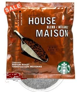 - Starbucks House Blend 4 Cup Hotel Coffee 120 / Case