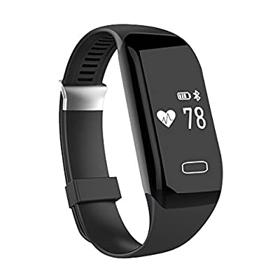 Fitness Tracker with Heart Rate Monitor, Morefit H3 Waterproof Smart Watch HR Wireless Activity Wristband