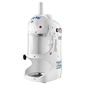 Great Northern Polar Pal Block Ice Shaver | Electric Snow Cone Maker | Built In Safety Shield | Stainless Steel Contruction