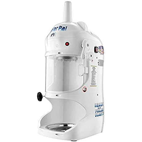 Great Northern Polar Pal Block Ice Shaver Electric Snow Cone Maker Built In Safety Shield Stainless Steel Construction