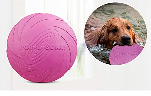 Rubber Toy for Small Large Dogs Pitbull Puppy Dog Flying Discs Interactive Toys Dog Training Products Pets Supplies