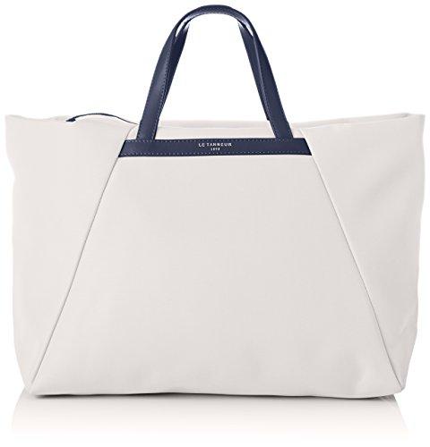 Le Tanneur Noemie Tnao1020 - Bolsos de mano Mujer Blanco (Perle)