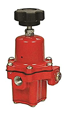 "Emerson-Fisher LP-Gas Equipment, 67CH-743, 1/4"" FNPT Connections, High-Pressure Regulator, Outlet: 3 - 35 PSI, Handwheel Adjustment, Vent, UL Listed by Emerson Regulator Technologies, Inc."