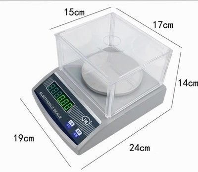 100 Sqcm Round Sample Cutter+precision electronic balance scale 1000g 0.01g USG by KEYUHOPE (Image #1)