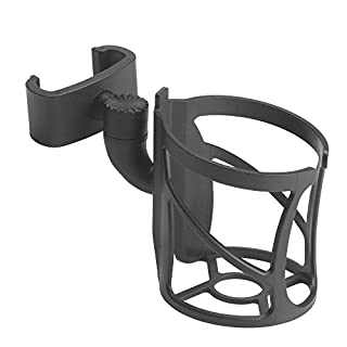 Drive Medical Nitro Rollator Cup Holder Attachment, Black, Universal