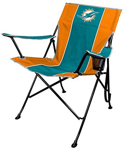 NFL Miami Dolphins TLG8 Folding Chair, 250 lb, Teal