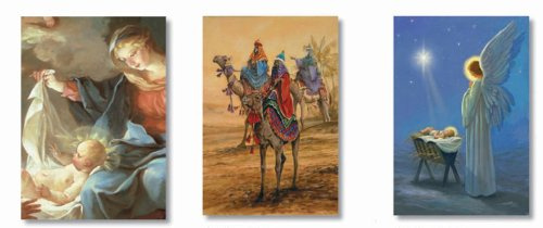 FINE ART CHRISTMAS CARDS ASSORTMENT- STYLES MAY VARY